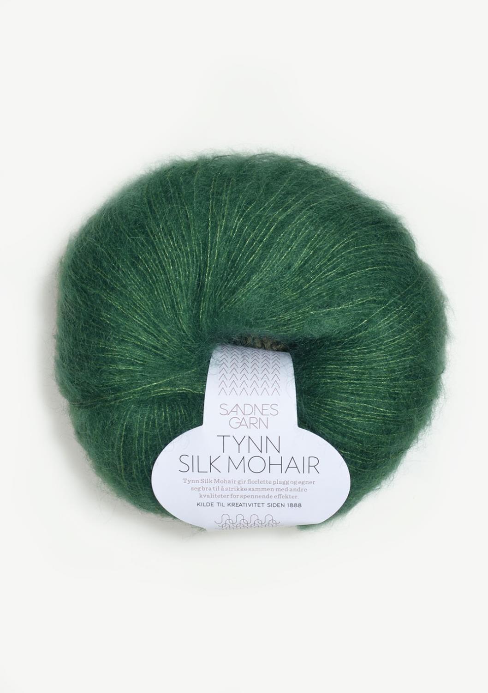 7755 Tynn Silk Mohair Smaragd