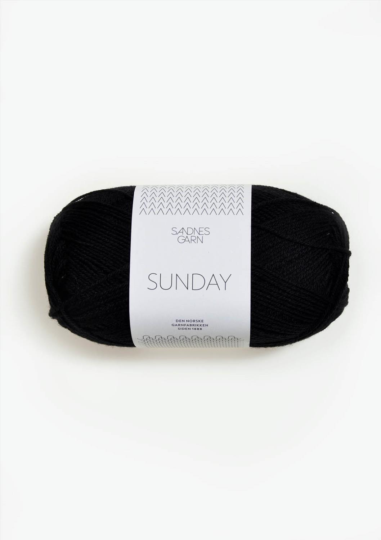 1099 Sunday Svart