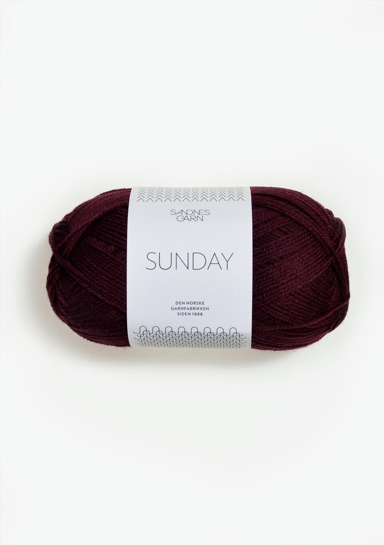 4372 Sunday Dyp Burgunder