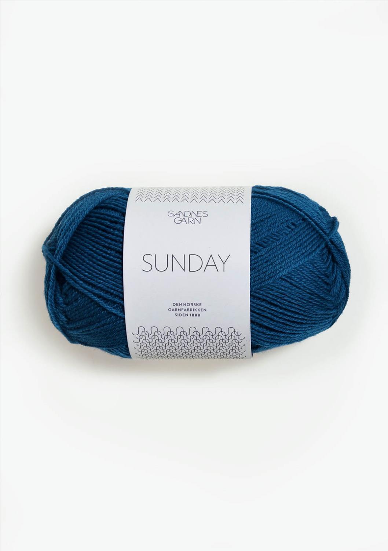 6063 Sunday Inkblå