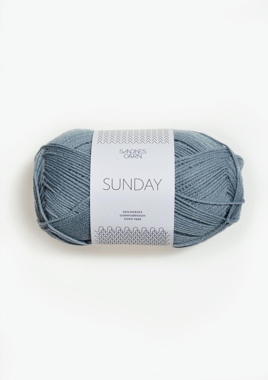 6501 Sunday Isblå