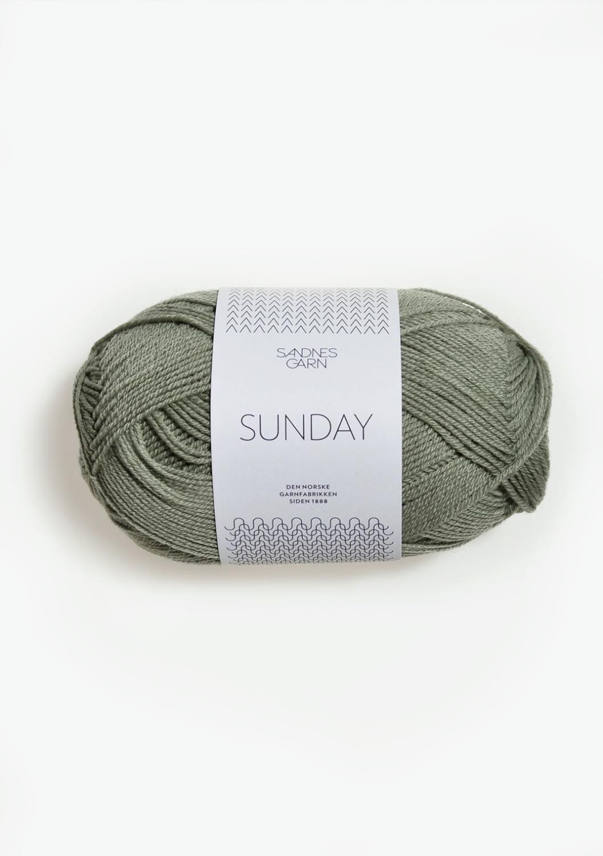8521 Sunday Støvet Lys Grønn