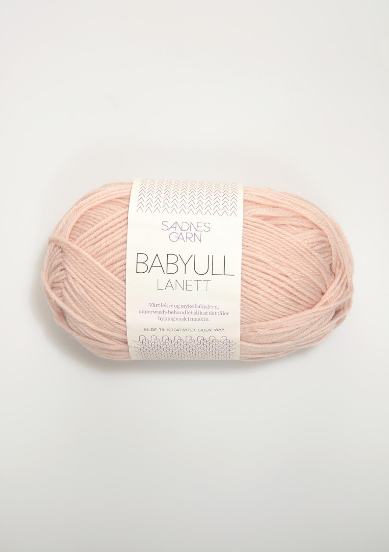 3511 Babyull Lanett Pudder Rosa