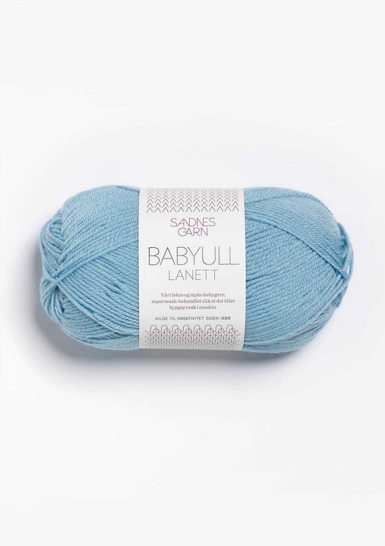 6013 Babyull Lanett Himmelblå