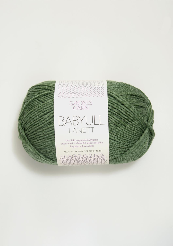 8543 Babyull Lanett Grønn