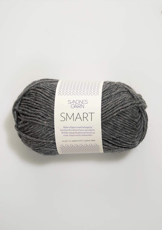 1053 Smart Mørk Gråmelert