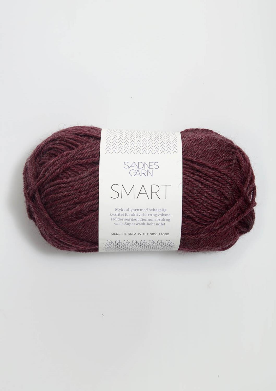 4363 Smart Vinrød Melert