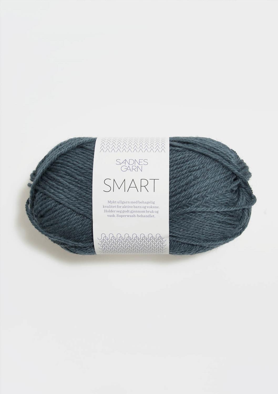 6272 Smart Mørk Blåmelert