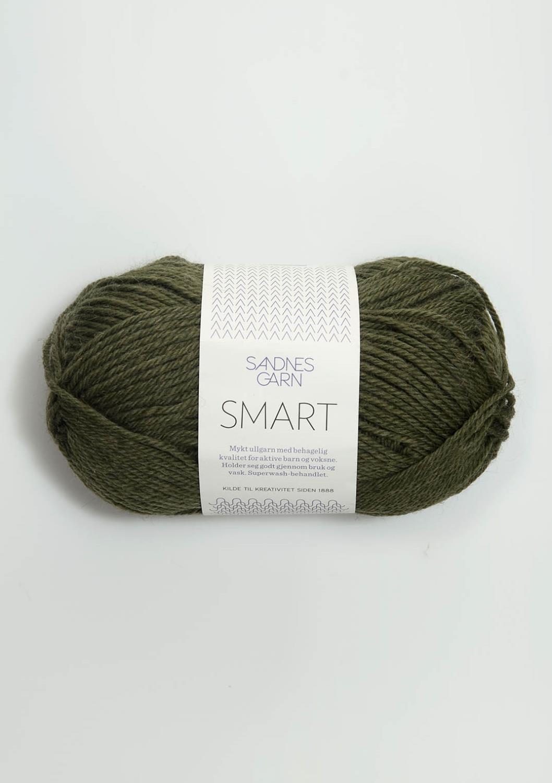 9572 Smart Mørk Grønnmelert