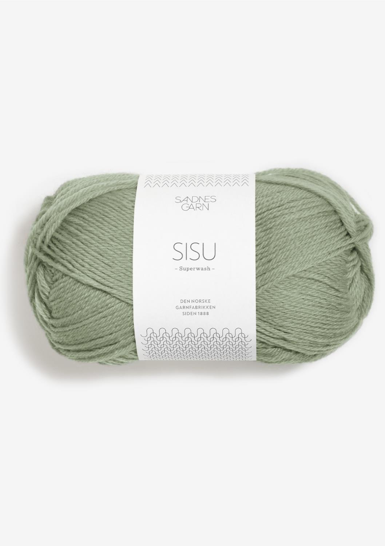 9041 Sisu Støvet Lys Grønn