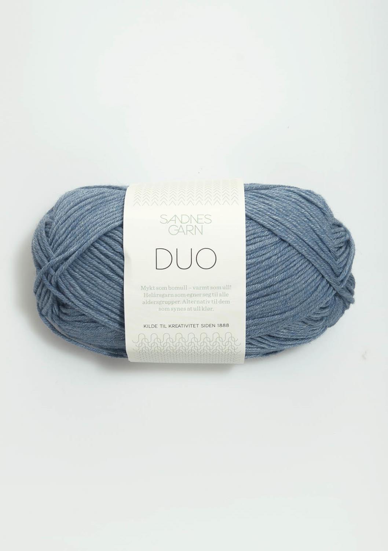 6033 Duo Jeansblå
