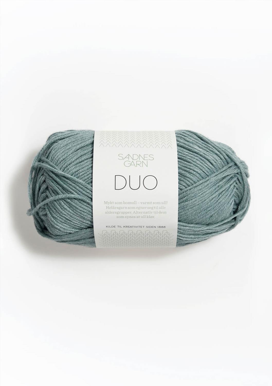 6841 Duo Støvet Aqua