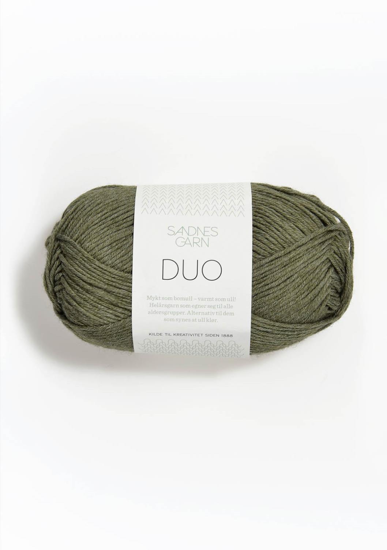 9551 Duo Støvet Mosegrønn