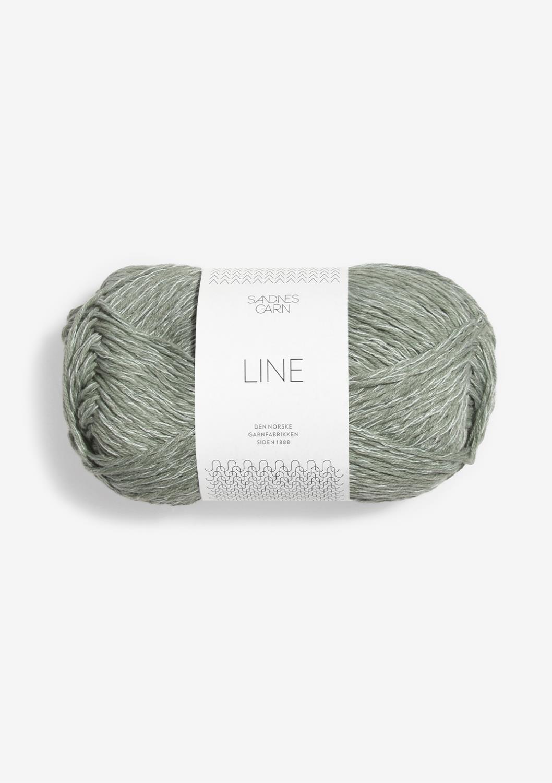 8521 Line Støvet Lys Grønn