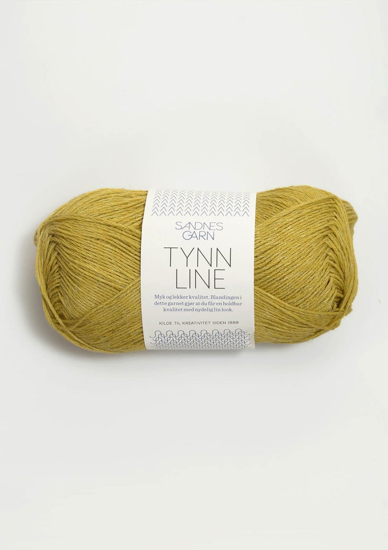 2024 Tynn Line Gulgrønn