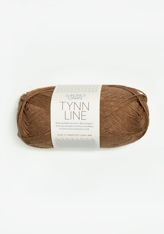 2553 Tynn Line Gyllen Brun