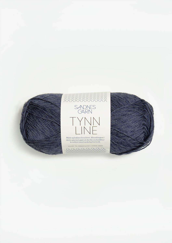 6061 Tynn Line Mørk Gråblå