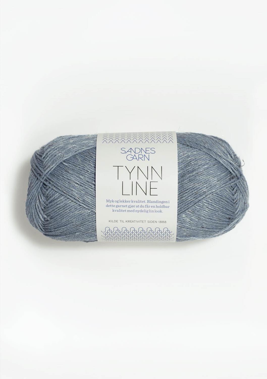 6531 Tynn Line Isblå