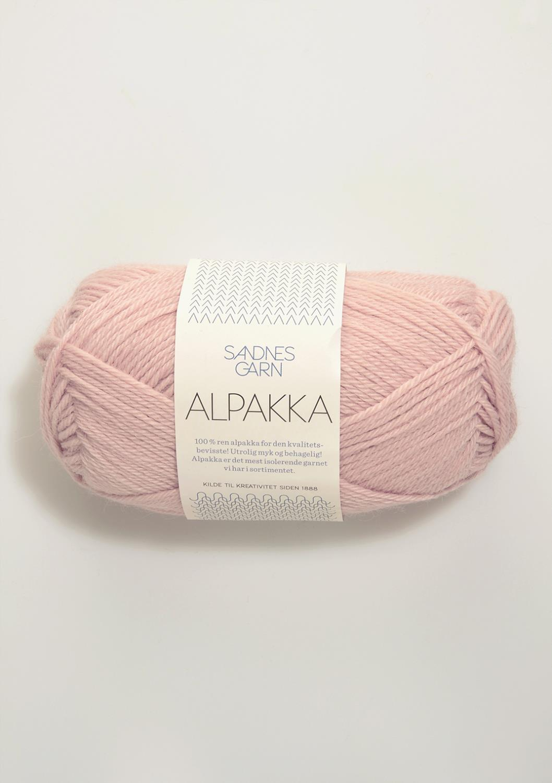 3511 Alpakka Pudder Rosa