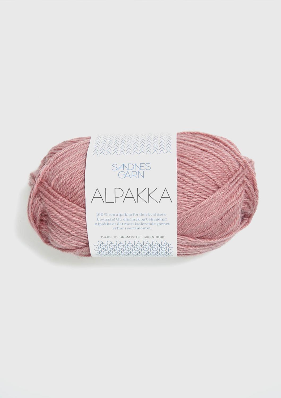 4023 Alpakka Støvet Gammelrosa