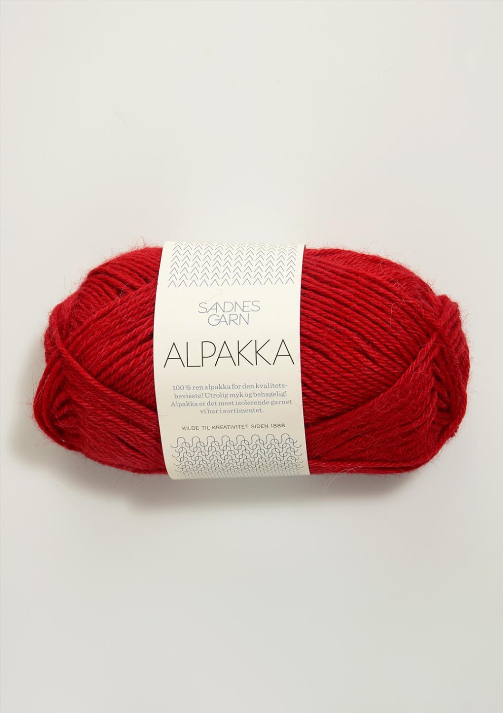 4219 Alpakka Rød