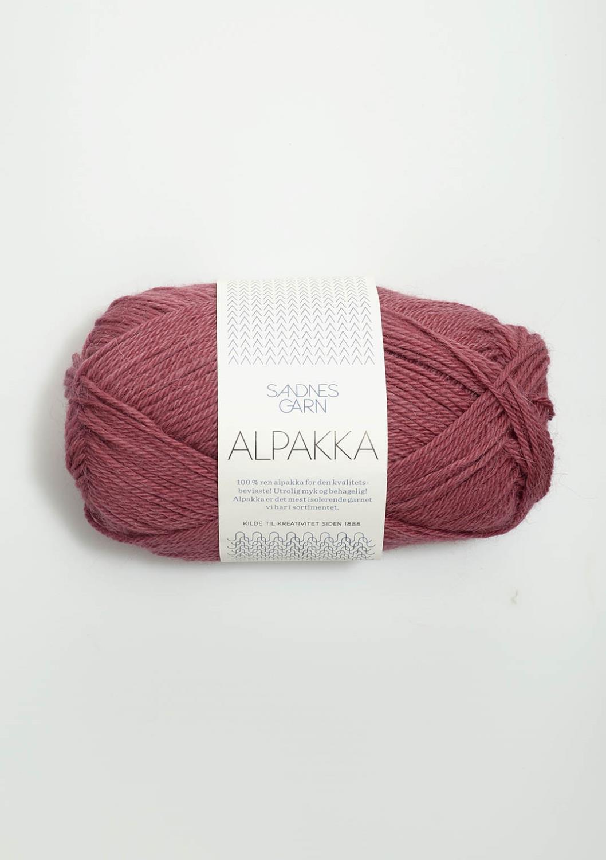 4244 Alpakka Mørk Gammelrosa
