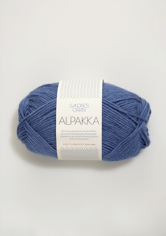6053 Alpakka Blå