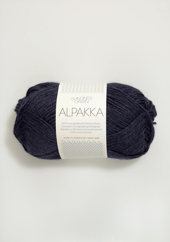 6081 Alpakka Mørk gråblå