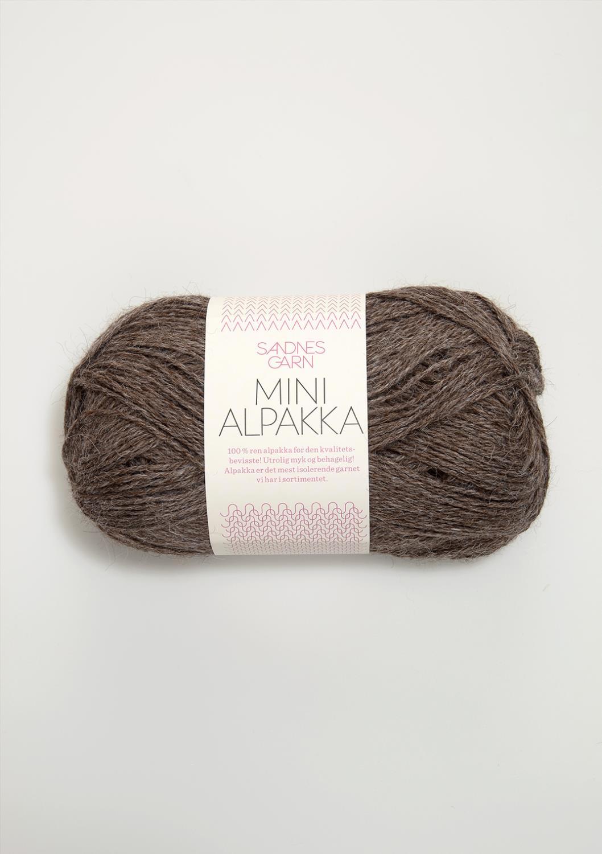 2652 Mini Alpakka Mellombrun Melert