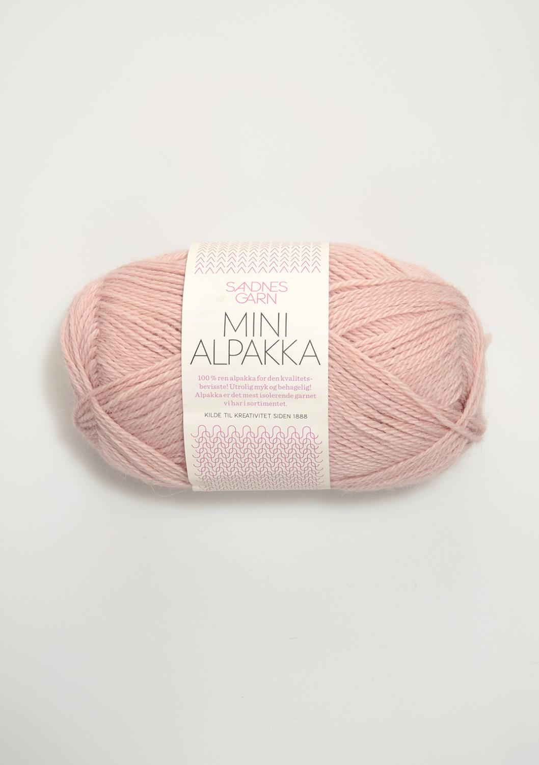 3511 Mini Alpakka Pudder Rosa