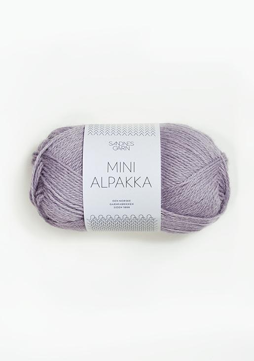 4631 Mini Alpakka Støvet Syrin