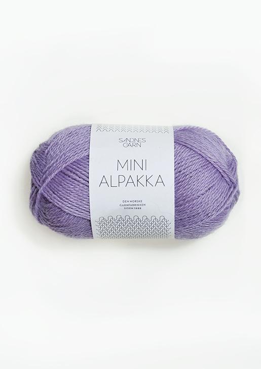 5043 Mini Alpakka Lilla
