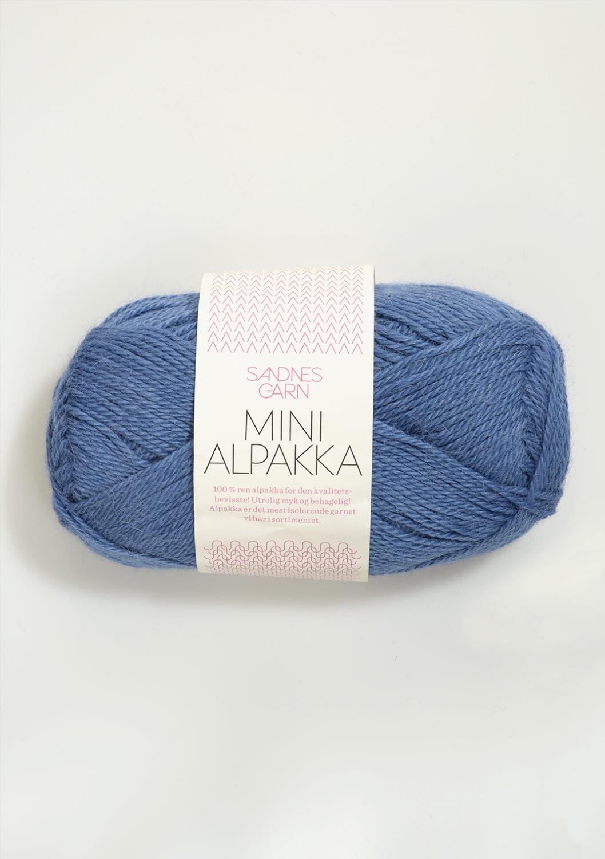 6053 Mini Alpakka Blå