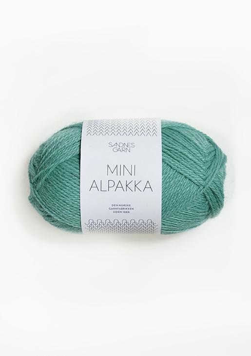 7533 Mini Alpakka Sjøgrønn