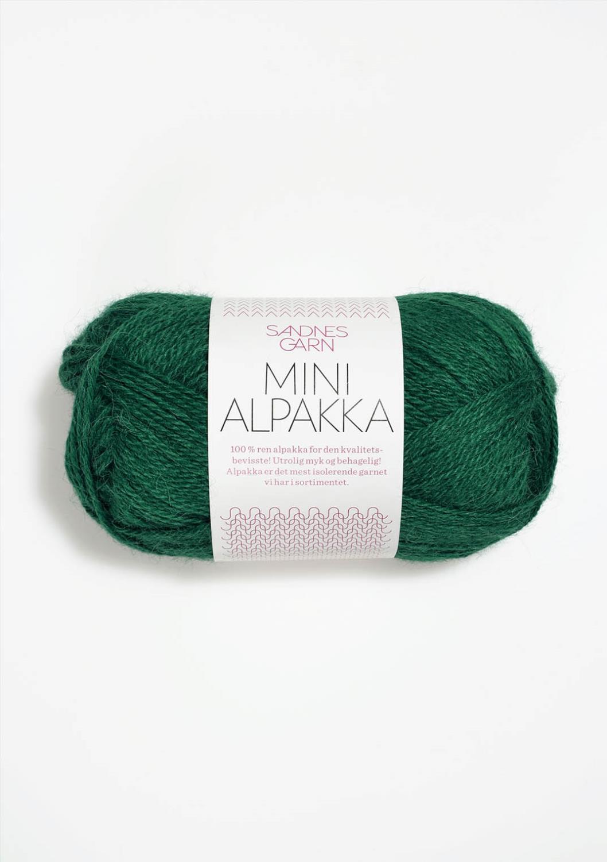 7755 Mini Alpakka Smaragd