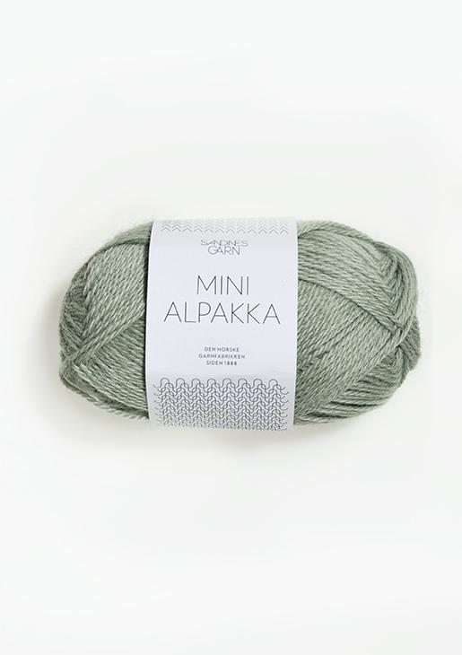 8031 Mini Alpakka Chinos Grønn