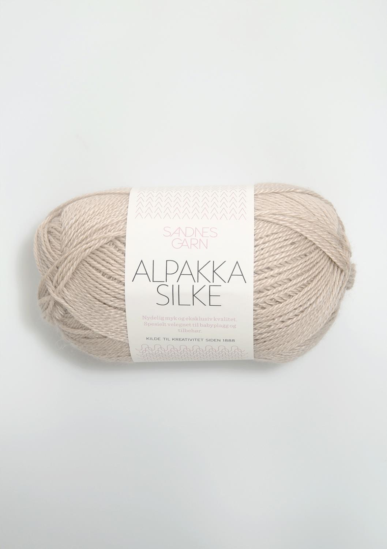2521 Alpakka Silke Sand