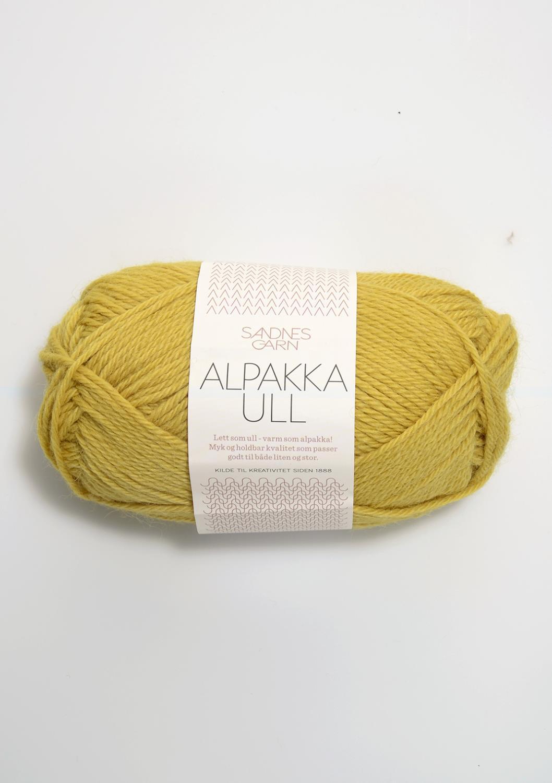2015 Alpakka Ull Maisgul