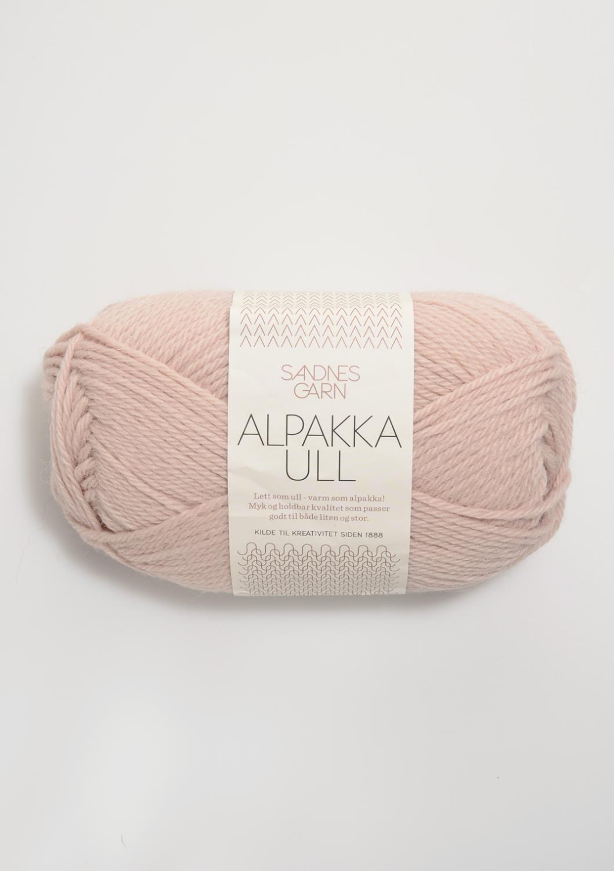 3511 Alpakka Ull Pudder Rosa