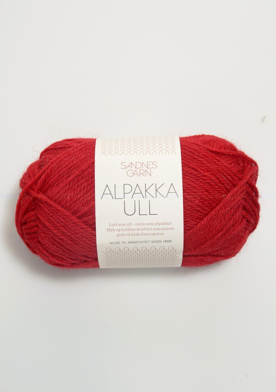 4219 Alpakka Ull Rød