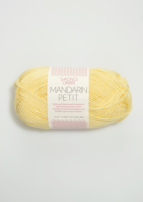 2102 Mandarin Petit Lys Gul