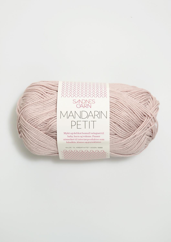 3511 Mandarin Petit Pudder rosa
