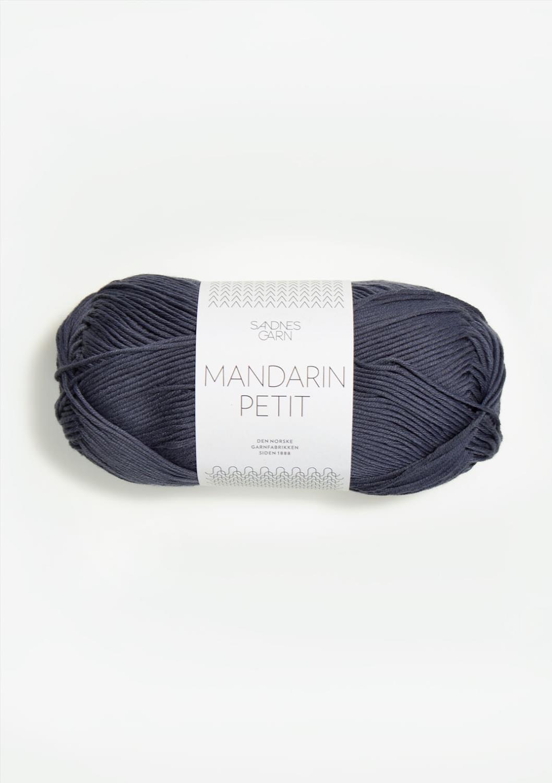 6061 Mandarin Petit Mørk Gråblå