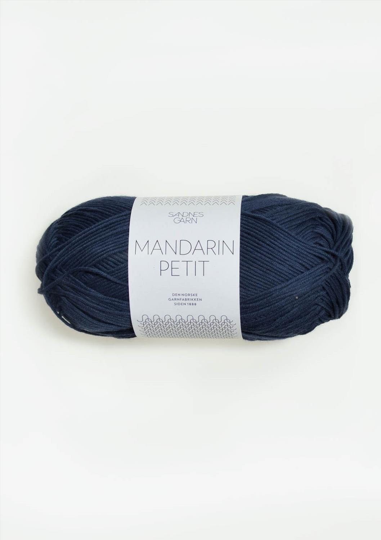 6072 Mandarin Petit Marineblå