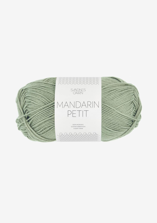 9041 Mandarin Petit Støvet Lys Grønn