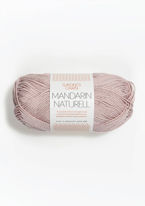 3511 Mandarin Naturell Pudder Rosa