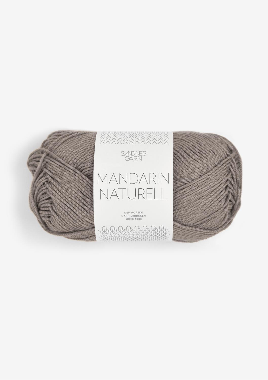 3870 Mandarin Naturell Linbrun