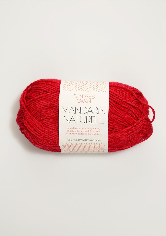 4219 Mandarin Naturell Rød