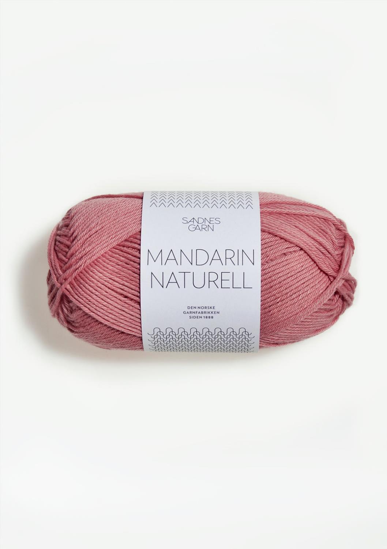 4323 Mandarin Naturell Rosa