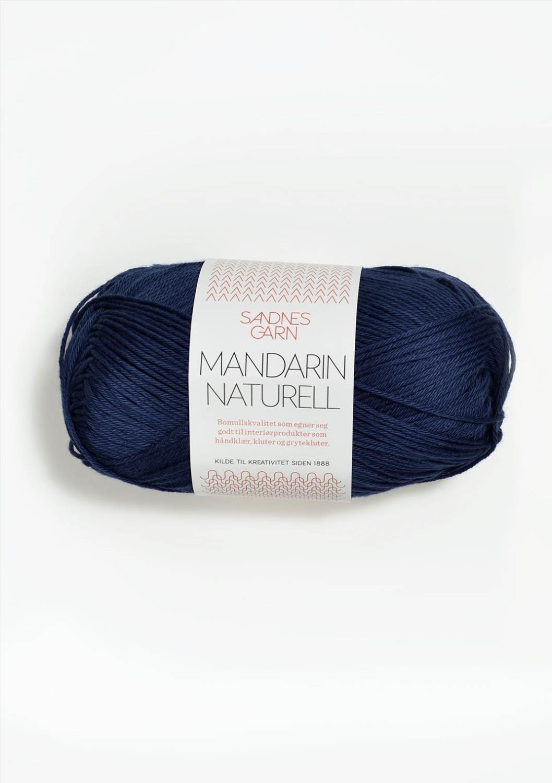 5575 Mandarin Naturell Marineblå